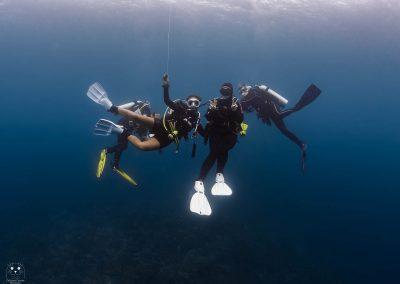 Raja Ampat Divers being safe